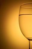 Vidro de vinho Foto de Stock