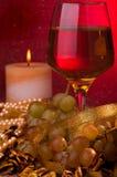 Vidro de vinho Imagem de Stock Royalty Free