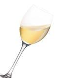 Vidro de vinho. Imagem de Stock