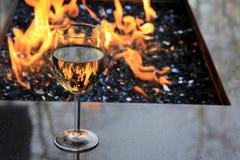 Vidro de vinho Fotos de Stock Royalty Free