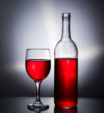 Vidro de vinho Imagens de Stock