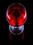 Vidro de vinho com vinho foto de stock royalty free