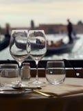 Veneza romântica Foto de Stock Royalty Free