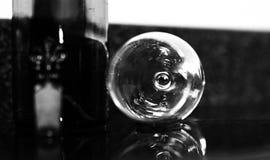 Vidro de vinho temperamental Imagem de Stock