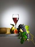 Vidro de vinho tinto Fotos de Stock Royalty Free