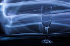 Vidro de vinho vazio foto de stock royalty free