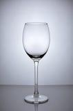 Vidro de vinho vazio Fotos de Stock Royalty Free
