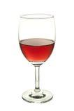 Vidro de vinho vermelho Foto de Stock