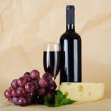 Vidro de vinho vermelho Fotografia de Stock Royalty Free