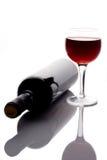 Vidro de vinho vermelho imagens de stock royalty free