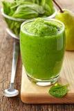 Vidro do batido verde Fotografia de Stock