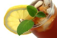 Vidro do chá de gelo Imagem de Stock Royalty Free