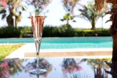 Vidro do champanhe Fotos de Stock Royalty Free