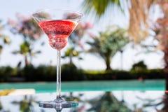Vidro do cocktail Foto de Stock