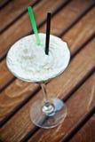 Vidro do cocktail do café Foto de Stock