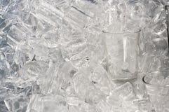 Vidro do gelo Imagem de Stock