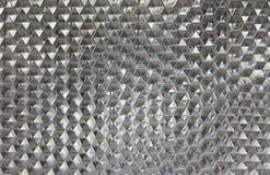 Vidro do hexágono da parede Imagens de Stock