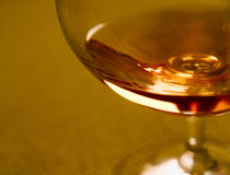 Vidro do rum Imagem de Stock Royalty Free