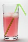 Vidro do suco com gelo Imagem de Stock Royalty Free