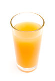 Vidro do suco do citrino Imagens de Stock