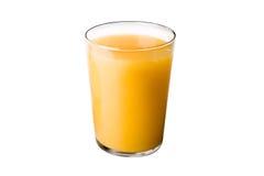 Vidro do sumo de laranja Foto de Stock