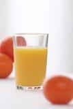 Vidro do sumo de laranja Imagem de Stock Royalty Free