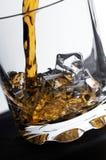Vidro do uísque Imagem de Stock Royalty Free