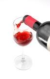 Vidro do vinho? imagens de stock royalty free