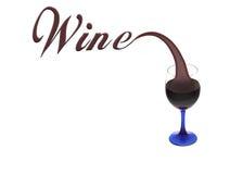 Vidro do vinho Imagem de Stock