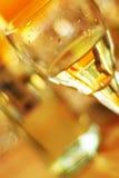 Vidro do vinho branco Imagens de Stock Royalty Free
