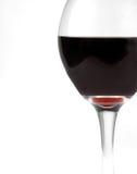 Vidro do vinho de Borgonha imagens de stock