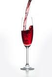 Vidro do vinho tinto Imagens de Stock