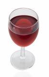 Vidro do vinho tinto Fotos de Stock Royalty Free
