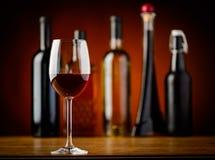 Vidro do vinho tinto Imagem de Stock