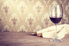 Vidro do vinho vermelho Imagens de Stock