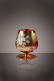 Vidro dourado Foto de Stock