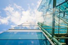 Vidro e aço Foto de Stock