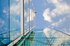Vidro e aço Imagem de Stock
