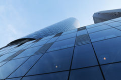 Vidro e concreto Imagem de Stock