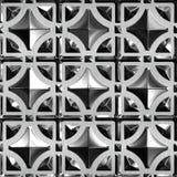 Vidro e metal Fotografia de Stock