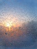 Vidro geado e sol Imagem de Stock