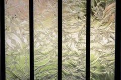 Vidro gravado Imagem de Stock