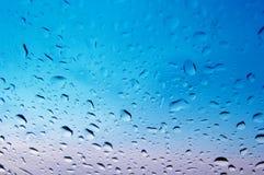 Vidro molhado Foto de Stock Royalty Free
