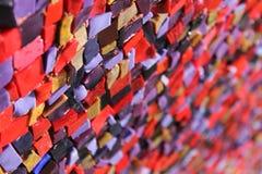 vidro Multi-colorido Fotos de Stock