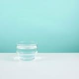 Vidro pequeno da água pura Imagens de Stock
