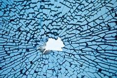 Vidro quebrado Foto de Stock Royalty Free