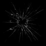Vidro quebrado Imagem de Stock