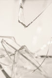 Vidro quebrado de Pilsner Foto de Stock Royalty Free
