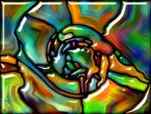 Vidro sintético Imagens de Stock