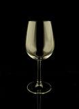 Vidro vazio do vinho Fotos de Stock